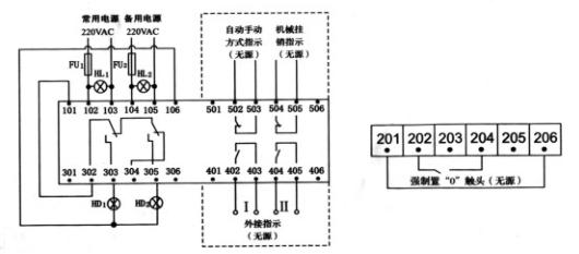 NL5双电源自动转换开关(ATSE),是集开关与逻辑控制于一体,无需外加控制器,真正实现机电一体化的自动转换开关,它适用于交流50HZ、额定电压440V、约定发热电流至3200A的工业配电设备中,具有电压检测、通讯接口、电气机械互锁等功能,可实现自动、电动远程、强制置0紧急手动操作,广泛用于供电系统的主电源与备用电源的自动转换或两台负载设备的自动转换及安全隔离等。开关由控制线路板发出各种逻辑命令来管理电机,由电机带动开关主体部分的操作机构,快速接通分断电路或进行电路转换,通过明显可见状态实现安全隔离。